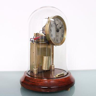 BARR USA AMAZING Condition Mantel Clock DOME Antique ELECTRIC Shelf Hipp Toggle