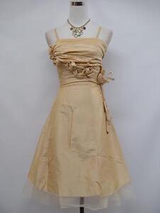 Robe-de-soiree-cocktail-ceremonie-mariage-T-38-a-54-BEIGE-fonce-Evening-dress