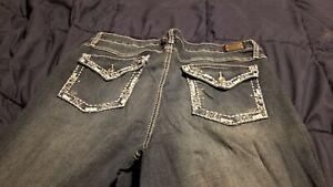 Plus-Size-Earl-Jeans-Size-18W-Slim-Boot