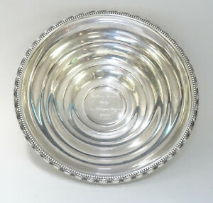MISS-GEORGIA-PAGEANT-1960-LA-PIERRE-137A-STERLING-SILVER-BOWL-8-75-034-321g