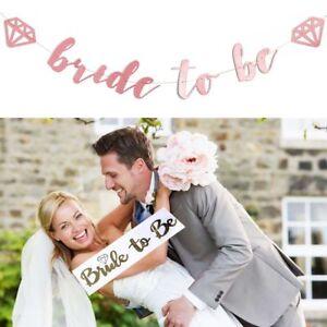 Supplies-Bachelorette-Party-Hen-Night-Decor-Paper-Banner-Bride-To-Be-Sash