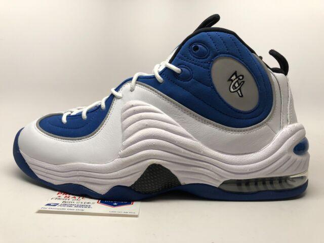 plus de photos 3d5bd 2d935 2015 Nike Air Penny 2 II Men's Basketball Shoes 333886-400 Sz 9