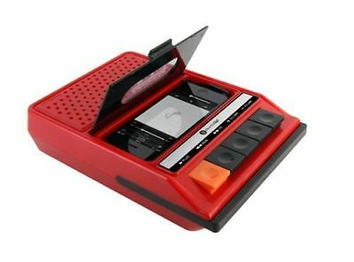 iRecorder Retro Tape Recorder Speakers for iPhone 4 & 5 Fun Nov Speaker Gift
