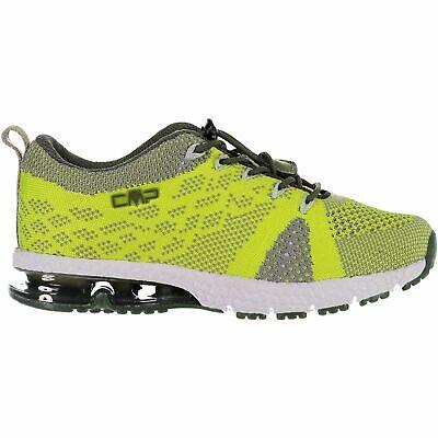Soleggiato Cmp Sneakers Scarpe Sportive Kids Knit Fitness Shoe Verde Chiaro Leggermente Traspirante-mostra Il Titolo Originale Impermeabile, Resistente Agli Urti E Antimagnetico