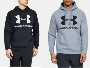 Under Armour Mens Rival Fleece Logo Hoodie