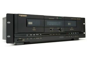 Marantz-Professional-Pmd-300cp-Dual-Cassette-Deck-USB-Backup-Tapes-To-Computer
