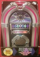 Rock N Roll Musical & Illuminated Centerpiece Jukebox 3 Songs 50's 60's 70's