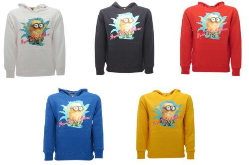 Felpa Minions Originale 2016 cappuccio Kevin Proud Sweat Sweatshirt Nature