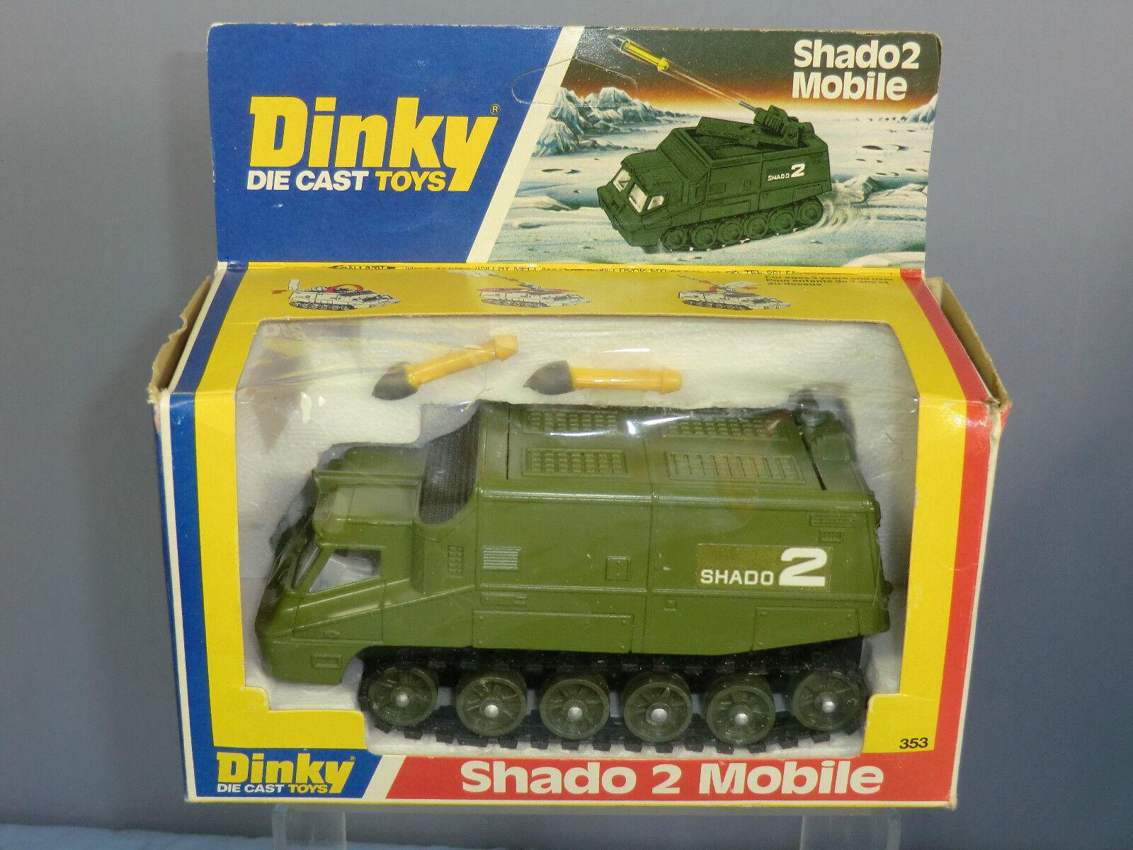 DINKY TOYS No.353 SHADO 2 mobile  VERSIONE VERDE  Nuovo di zecca con scatola