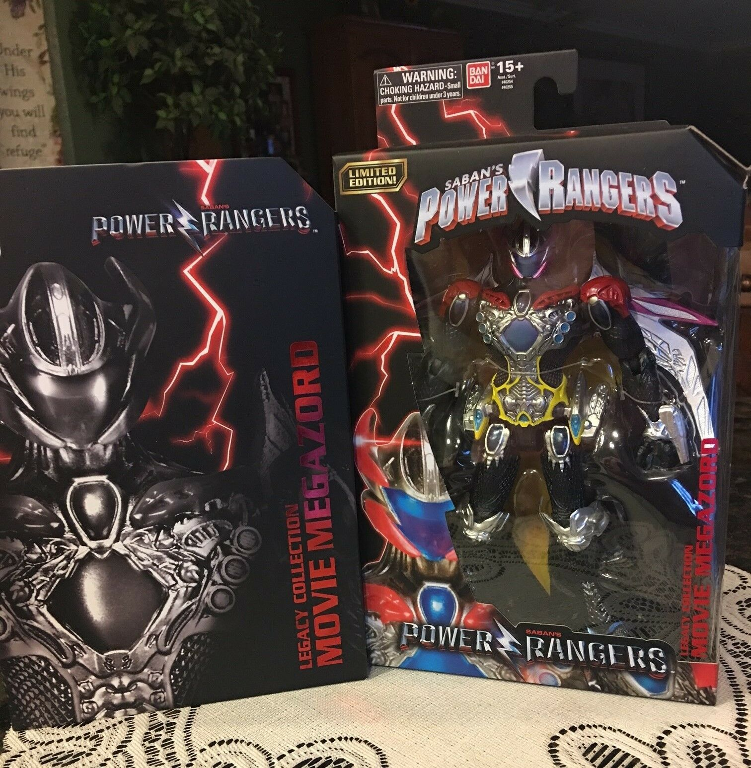 NRFB Comic Con Exclusive Power Rangers Legacy Collection MOVIE MEGAZORD Box