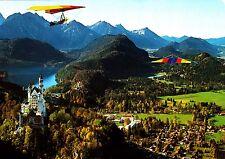 Drachenflieger am Tegelberg,Ansichtskarte, 1997 gelaufen