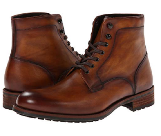 Handmade Men brown ankle leather boots, Men ankle boots, Leather Boots for men