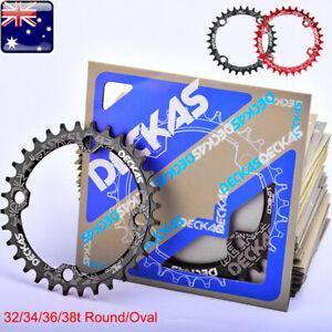 Oval Round MTB Bike Chainwheel 104BCD CNC Aluminum Alloy Chainring 32//34//36//38T