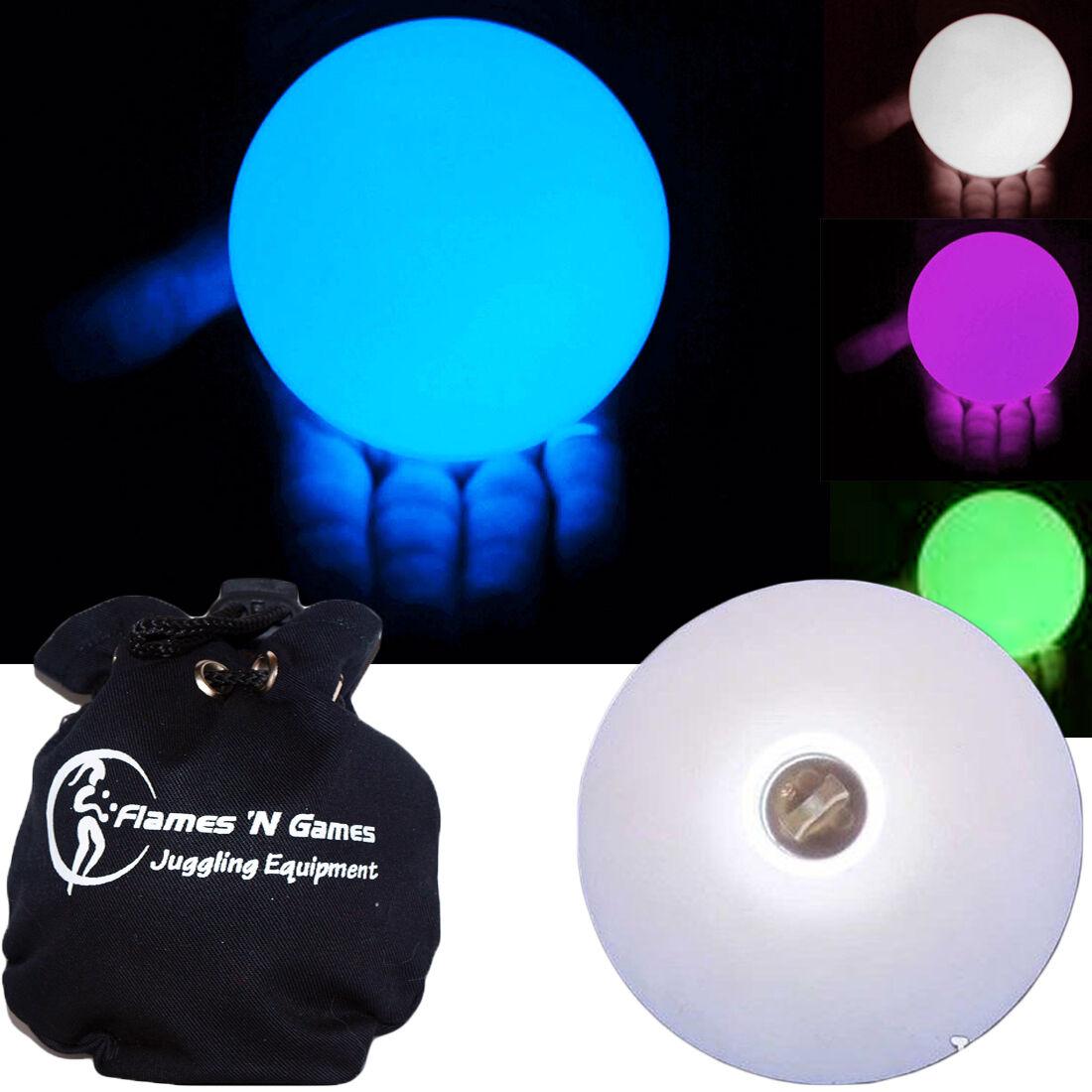 Led Leuchtende Kontakt Jonglierball 95mm Multifunktion (11 Einstellungen) + Tüte