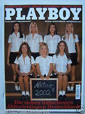 Playboy - D 5/2002, Abiturientinnen, Tabledance, Sean Penn, Stefan Effenberg