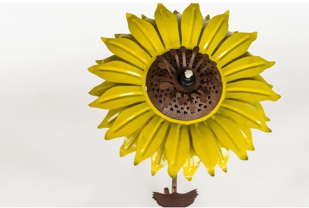 Sunflower Garden Tiki Tiki Tiki Torch Sculpture Yard Statue Decorative Mosquito Repellent 3bf028