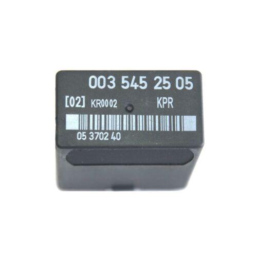CARBURANT POMPES relais MERCEDES w463 w126 c126 r107 G S COUPE Class 0035452505