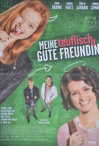 MEINE-TEUFLISCH-GUTE-FREUNDIN-A3-Poster-ca-42-x-28-cm-Film-Clippings-NEU