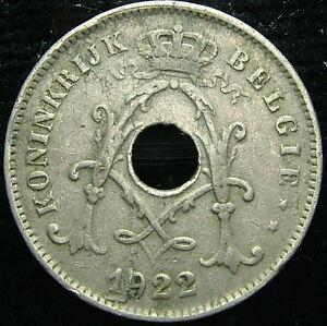 1922 Belgique Belgique Belgie 10 Cents Centimes 21xxhon7-08003542-807995828