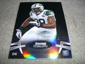 2012-Bowman-Sterling-Football-Quinton-Coples-Base-Card-Black-Refractor-10-75