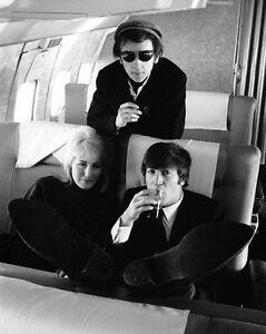 """The Beatles 1967 John Lennon Photo Print  14 x 11/"""""""