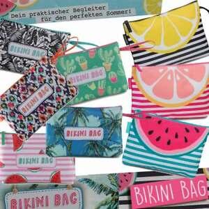 Damen-Strand-Bade-Sommer-Tasche-Strandtasche-Aufbewahrung-Bikini-Bag-50294