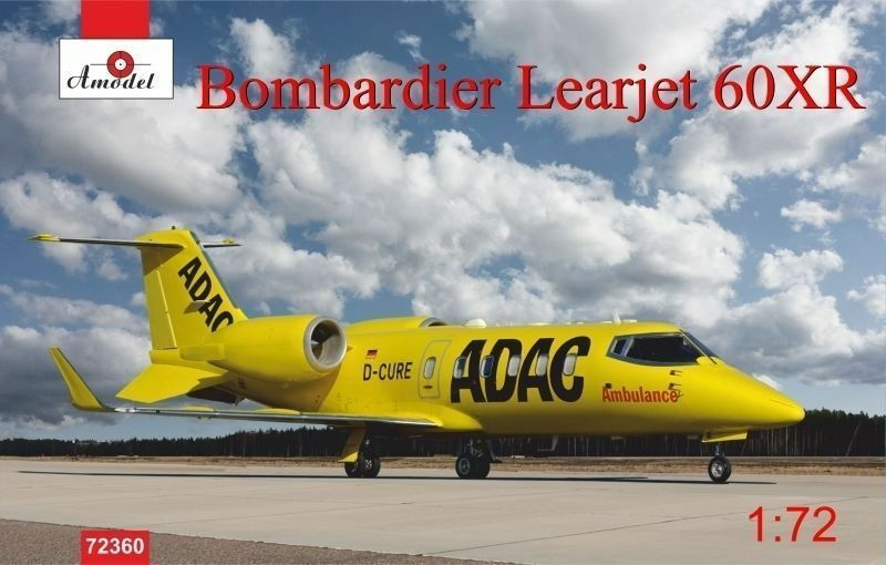 1 72 Amodel Bombardier Learjet 60XR kit