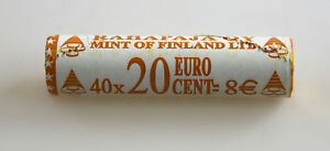 KMS-Currency-Coin-Set-20-Cent-Finland-2001-Unopened-View-Role