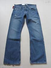 Levi's® 512 Bootcut Jeans Hose W 34 /L 36, NEU ! Frayed Denim, Einzigartig ! 102
