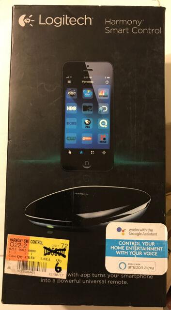 Logitech Harmony Smart Remote Control - 915-000194 New In Sealed Box
