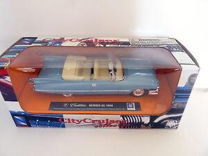 Voiture-NewRay-1-43-Vintage-Cadillac-Series-62-1959-bleu-et-beige-813047