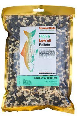Diligente Mixed Halibut & Cocco Carp E Coarse Mangime Pellet Per Carpe E Basso 5mm-