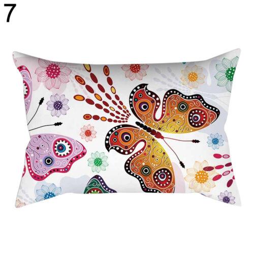 Eg /_ Schmetterling Überwurf Taille Kissen Hülle Überzug Sofa Schlafzimmer