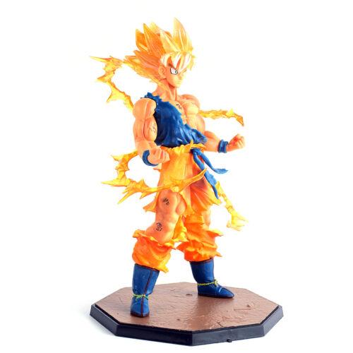 Anime Dragon Ball Z Super Saiyan Son Goku PVC Action Figure Collectible Kid Toy