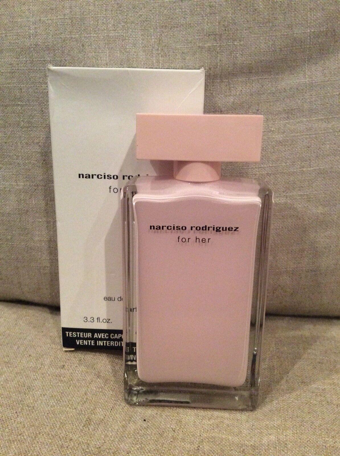 Narciso Rodriguez For Her 33oz Womens Eau De Rodriquez Women Edp 90ml Parfum Ebay