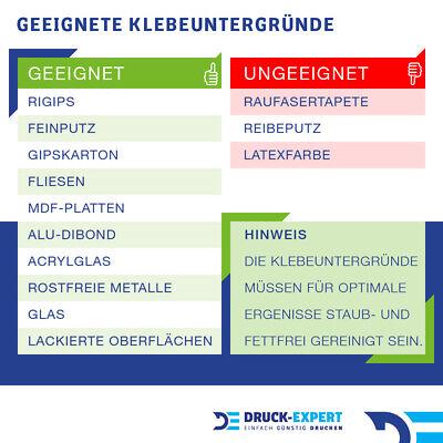 K/üchenr/ückwand Limetten Eiswasser Premium Hart-PVC 0,4 mm selbstklebend Direkt auf die Fliesen Gr/ö/ße:Materialprobe A4