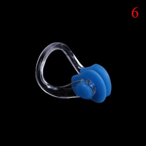 2Pcs Silicone Swimming Watertight Nose Clip Swim Fitness Pool PC Nasal Splint/>x
