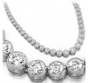 index jwl item tennis white number diamond details graduated necklace carat gold in karat