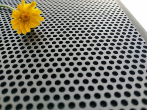 Perforated Aluminium Sheet-Perforated Alu Security mesh-750*1200mm /& 750*1500mm