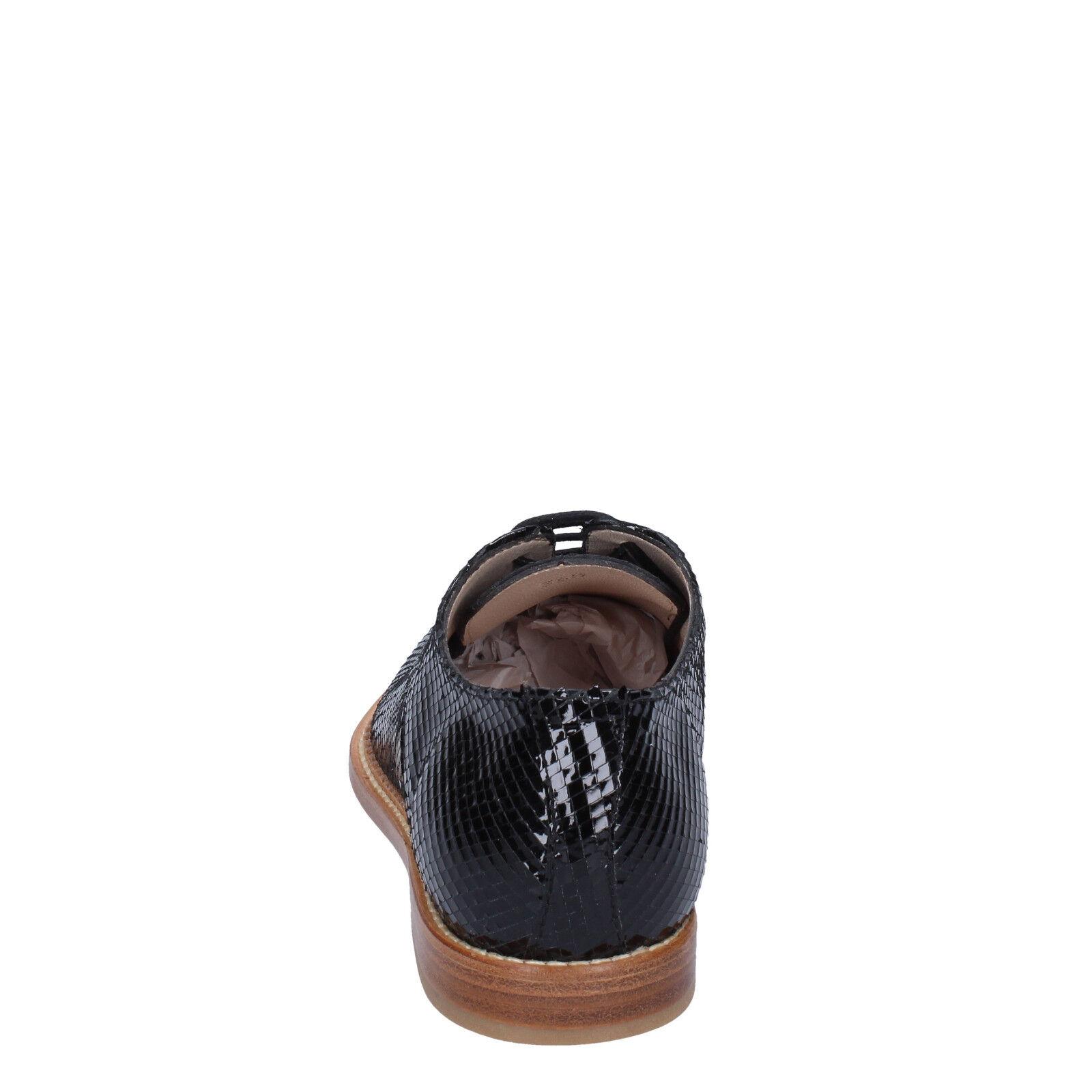 Scarpe donna ARNOLD CHURGIN 36,5 EU classiche nero pelle pelle pelle lucida BT954-36,5   Ufficiale  eb10f7