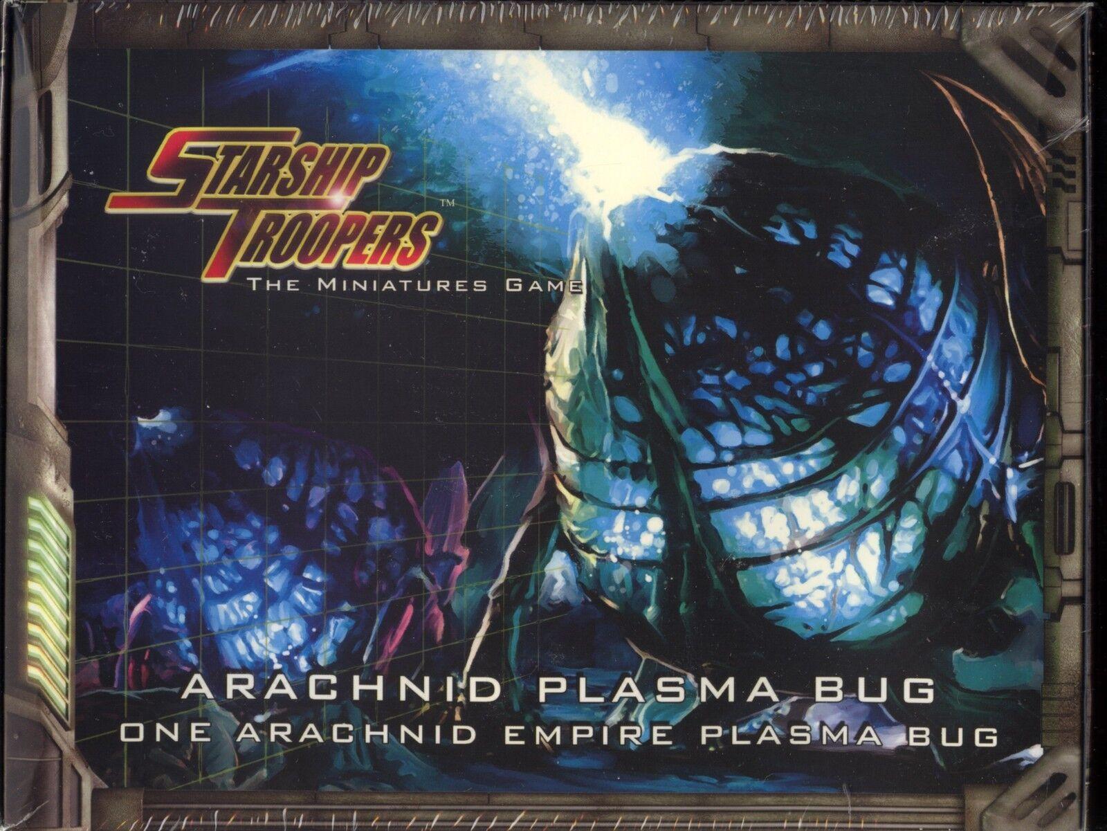 Starship troopers die miniaturen spiel spinnentier plasma bug box minze