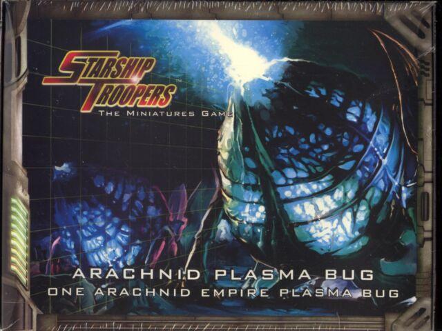 Starship Troopers The Miniatures Game Arachnid Plasma Bug Box Set MINT