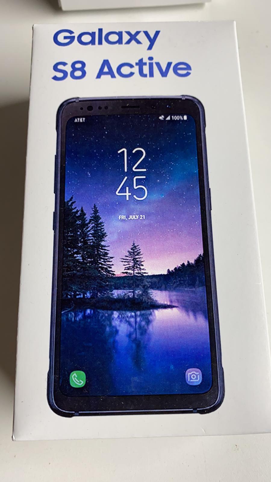 Unlocked Samsung Galaxy S8 Active SM-G892A - 64GB - Meteor Gray AT&T Phone