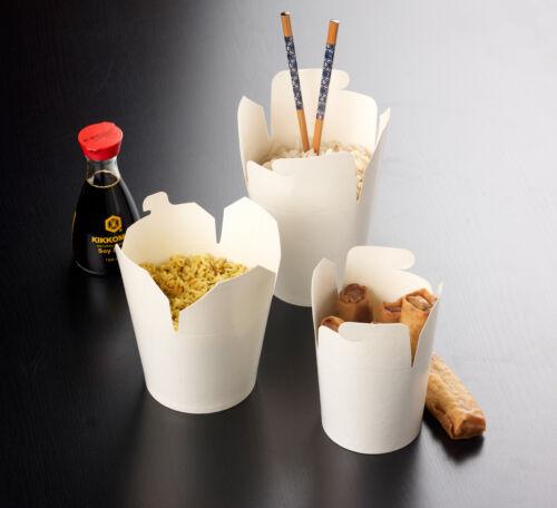 Chinese 50 x 26oz Takeaway Noodle Boxes 5055202116016 Hot Food Box