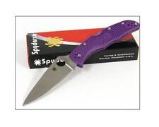 Taschenmesser Spyderco Endura 4 Purple FRN Handle VG-10 Made Japan SC10FPPR