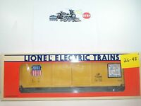 Lionel Union Pacific Double Door Boxcar 6-17208 S26-48