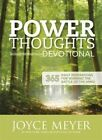 Power Thoughts Devotional: 365 Daily Inspirations for Winning the Battle of Your Mind by Joyce Meyer (Paperback, 2014)