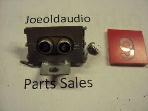 Garrard-Synchro-65B-RCA-Output-Jack-amp-Mounting-Screw-Parting-Out-Garrard-65B
