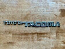 95 04 Chrome Toyota Tacoma Left Or Right Front Door Emblem Logo Badge Nameplate Fits 1996 Toyota Tacoma