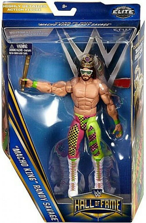 WWE Wrestling Elite Hall of Fame Randy Savage Action Figure [Macho King]